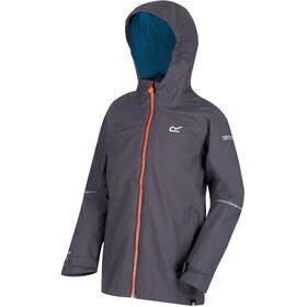 Regatta Hipoint IV Stretch Jacket Boys Seal Grey